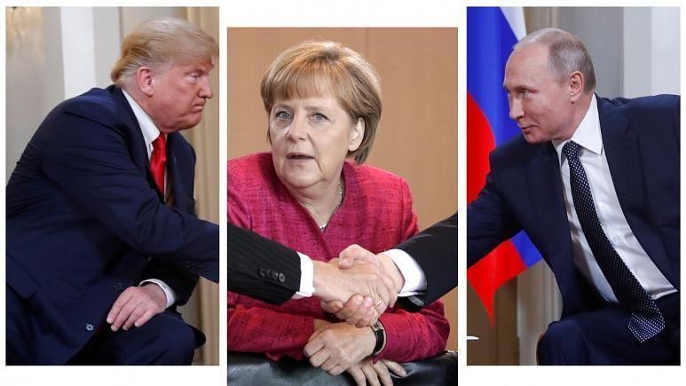 مرکل گرفتار در میان دو ابرقدرت، تغییر سیاست خارجی واشنگتن در قبال آلمان یا چراغ سبز به روسیه