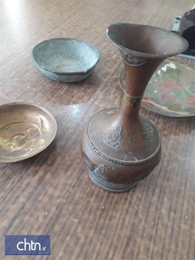 کشف و ضبط اشیای تاریخی از قاچاقچیان در ممسنی