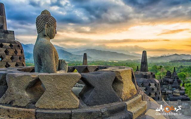 باور می کنید بزرگترین معبد بودایی دنیا زمانی زیر جنگل و خاکستر دفن شده بود!