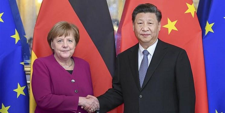 پالیتیکو: نزاع آلمان با آمریکا، مرکل را به سمت چین سوق داده است