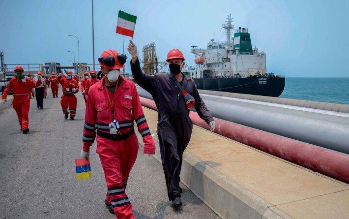 اقدام آمریکا درباره 5 ناخدای کشتی ایران