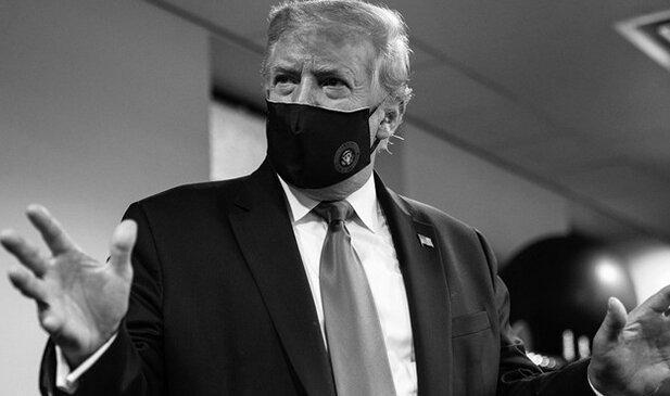 ترامپ برای حمایت مردم آمریکا از خود ماسک زد