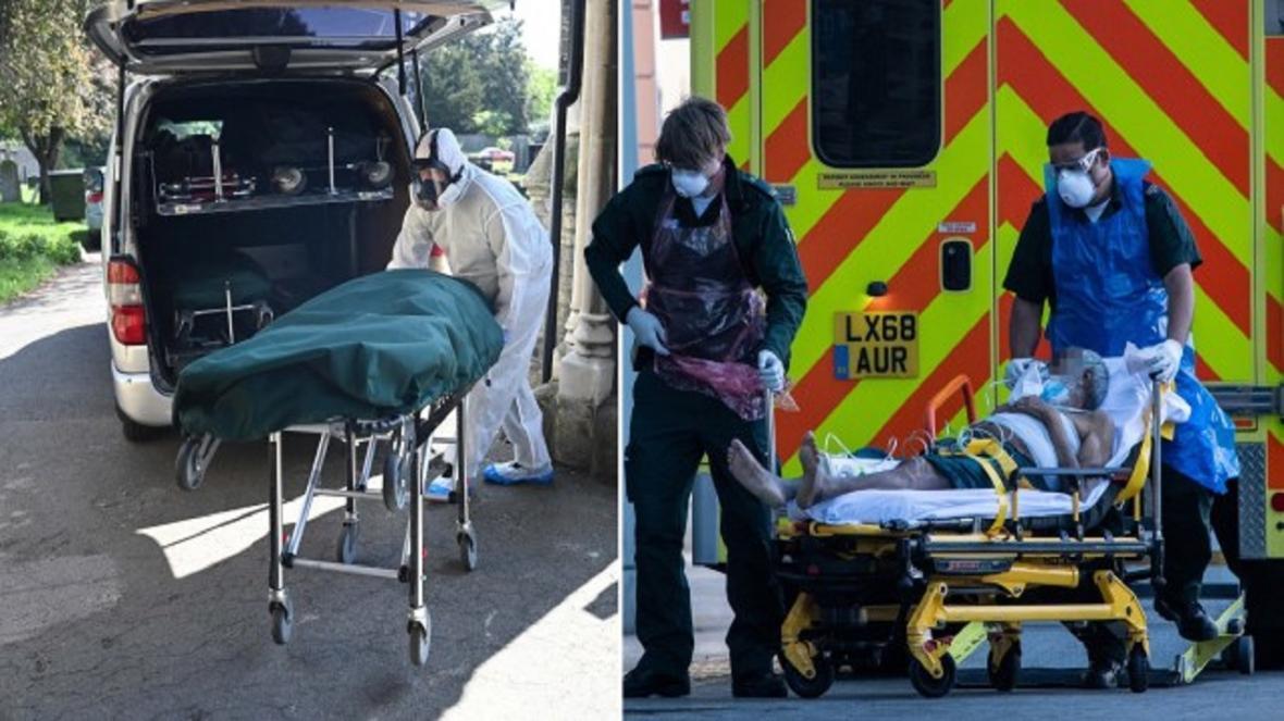 مقامات انگلیس: بالاترین آمار مرگ و میر ناشی از کرونا را در اروپا داریم