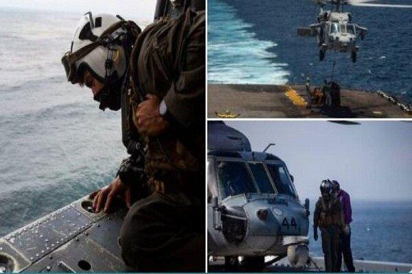عملیات جستجوی تفنگداران آمریکائی ناپدید شده پایان یافت