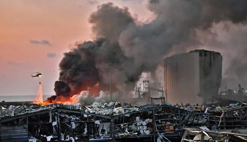 جزئیات انفجار مهیب در بندر بیروت ، 27 کشته و 2500 زخمی تا این لحظه