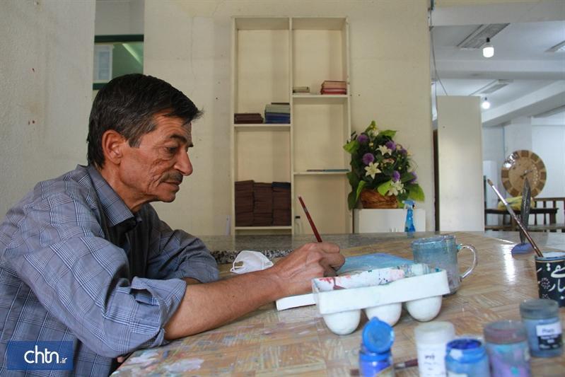 هنرمندی که نگارگری را از اصفهان به ارومیه ارمغان آورد
