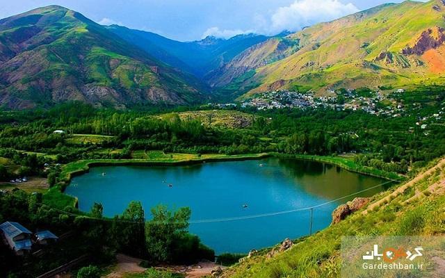 دریاچه اوان؛ از شگفتی های طبیعت قزوین