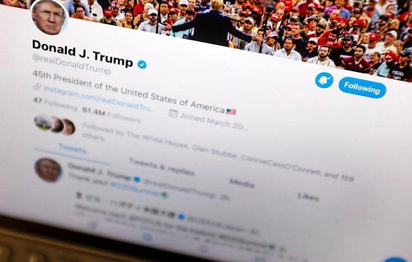 توییت ترامپ بار دیگر به عنوان گمراه کننده علامت گذاری شد