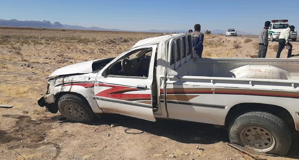 یک کشته در واژگونی محور قاین-زیرکوه