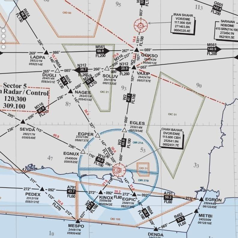چرا فرودگاه نظامی برای فرودگاه جدید چابهار مزاحمت ایجاد نمی کند؟