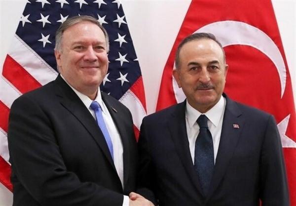 گفت وگوی پامپئو و چاووش اوغلو درباره تحریم های اخیر آمریکا علیه ترکیه