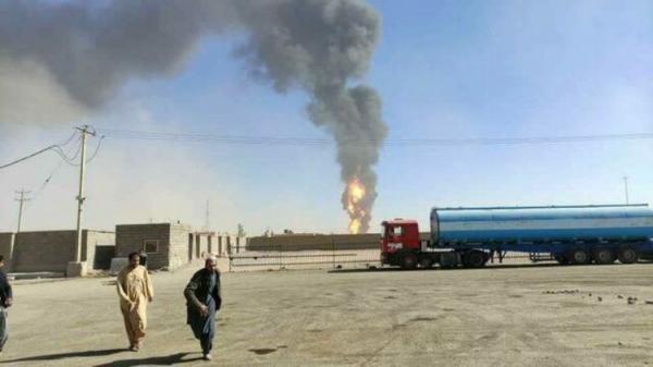 (ویدئو) گمرک اسلام قلعه؛ یک روز پس از آتش سوزی گسترده