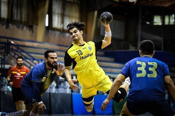تیم هندبال جوانان ایران در سید دوم آسیا