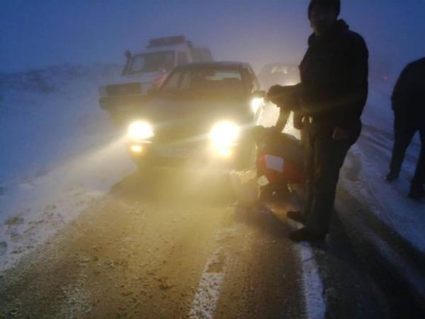 مرگ مشکوک سه سرنشین خودرو در دامغان