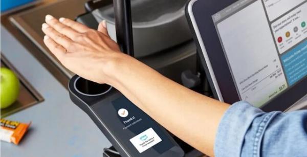 فناوری پرداخت با کف دست در فروشگاه های آمازون