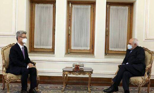 خداحافظی سفیر کره جنوبی با وزیر خارجه کشورمان