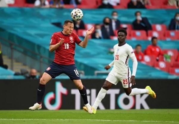 یورو 2020، ساکا بهترین بازیکن دیدار انگلیس - چک شد