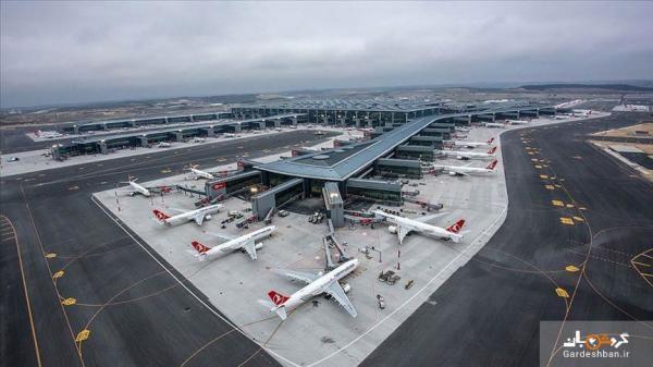 فرودگاه استانبول رکورد زد