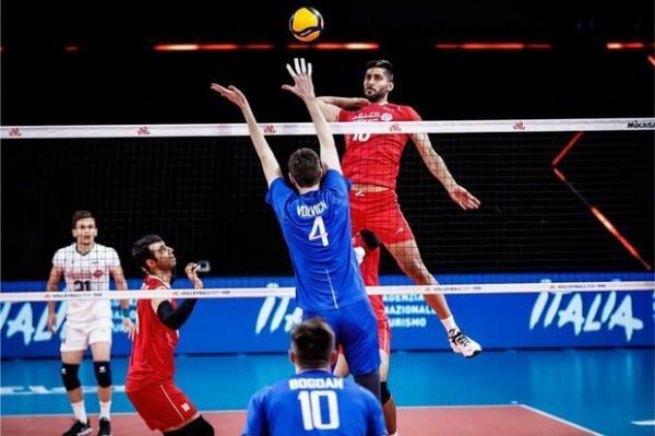 صعود یک پله ای والیبال ایران در رنکینگ جهانی