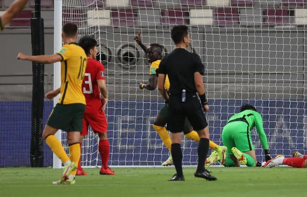 انتخابی جام جهانی 2022، پیروزی پرگل استرالیا و عربستان مقابل رقبا