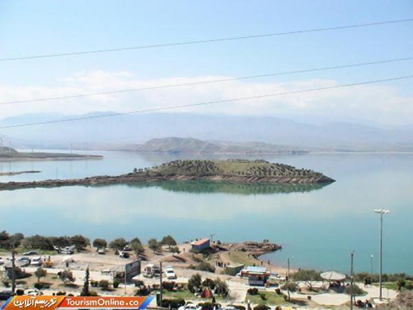 سامان دهی منطقه گردشگری هرزویل و جزیره سد منجیل